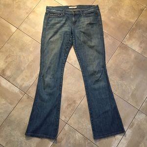 Joes Jeans men's Boot leg cut worn in look & fit